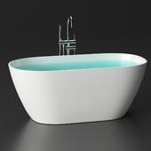 Ванна каменная Holbi Venus Solid Surface + Gerhans