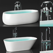 Laufen bath set + taps