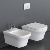 Duravit P3 Comforts Wall-hung WC