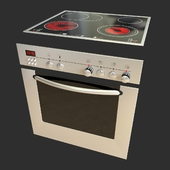 Built-in electric cooker panels