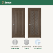 "Interior door factory ""Terem"": Garda 5 model (Neoclassic collection)"