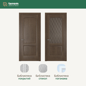 "Interior door factory ""Terem"": model Florence 2 (Neoclassic collection)"
