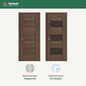 "Interior door factory ""Terem"": model Strada04 / Strada14 (Standart collection)"