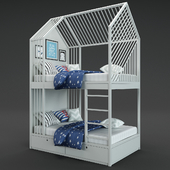 Eke house bunk bed