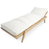 Synthesis Wooden Deck Chair