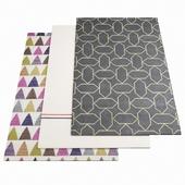 Three ASPLUND rugs - 1-7