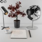 Worktable decorative set