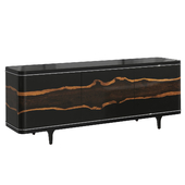 Chest of drawers The Naturalist Entertainment Console Caracole