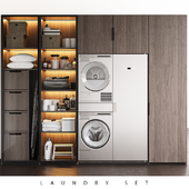 LAUNDRY SET (Poliform FITTED + ASKO)