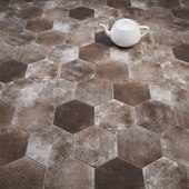 CIR Esagona Light Brown (Ex Visone) Tile Set