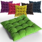 Вязанная Декоративная подушка