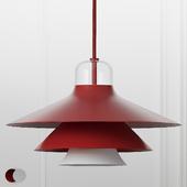 Ikono Lamp Small EU Red and White