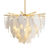 Cora waterfall chandelier