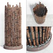 Bambo decor ring fundament
