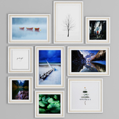 Photo Frame Set 28 (9 Frame Wall Collection)