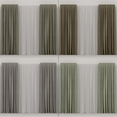 A series of curtains