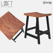 Stool LoftDesigne 1590 model