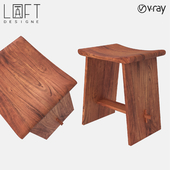 Stool LoftDesigne 1592 model