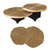 Eichholtz - Coffee Table Thousand Oaks set of 2