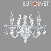 OM Sconce with tinted crystal Eurosvet 3281/2 Elisha
