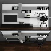 TV stand & workplace set 063