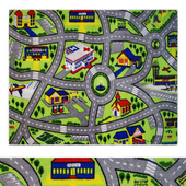 Fun Time Driving Fun Multi Area Rug
