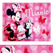 Minnie Mouse Pink Juvenile Area Rug