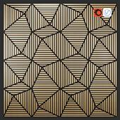 Soundform - Peak - Black MDF w Essential Oak