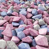 Stone river decorative