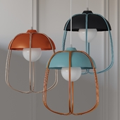 CROWDYHOUSE Tull Cage Ceiling Lamp 3 Colors