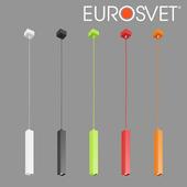 OM LED pendant lamp Eurosvet 50154/1 Cant