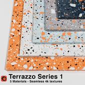 Terrazzo - Series 1 (5 Seamless Materials)