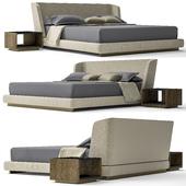 Minotti creed bed