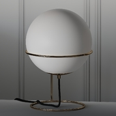 COX & COX Frosted Glass Globe Lamp