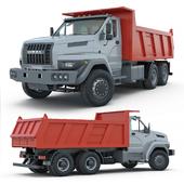 Ural Next 6x4 dump truck