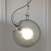 Nordic Style Wide Glass Miconos Suspension Lamp