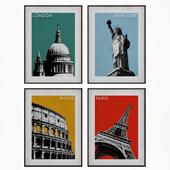 City poster frame