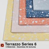 Terrazzo - Series 6 (5 Seamless Materials)