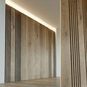 Стеновая панель из дерева. Декоративная стена. 28