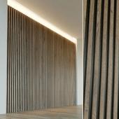 Стеновая панель из дерева. Декоративная стена. 31