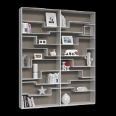 Shelving MDF Italia Melody (3 colors).