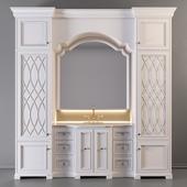 Мебель для санузла 01