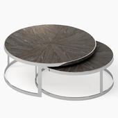 Set of Contemporary Nesting Cocktail Tables