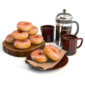Coffee shop | Donuts set 03