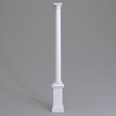 Column Europlast. Capital: 1.11.008 Trunk: 1.12.060 Base: 1.13.700 Pedestal 1.14.001