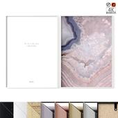 "Poster Set ""Light Agate"""
