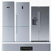 Set of refrigerators BOSCH