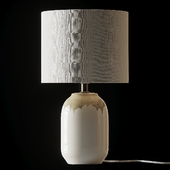 COX & COX Ceramic Bedside Lamp
