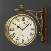 Настенные часы Station clock Eichholtz