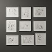 Hand drawn photo frame